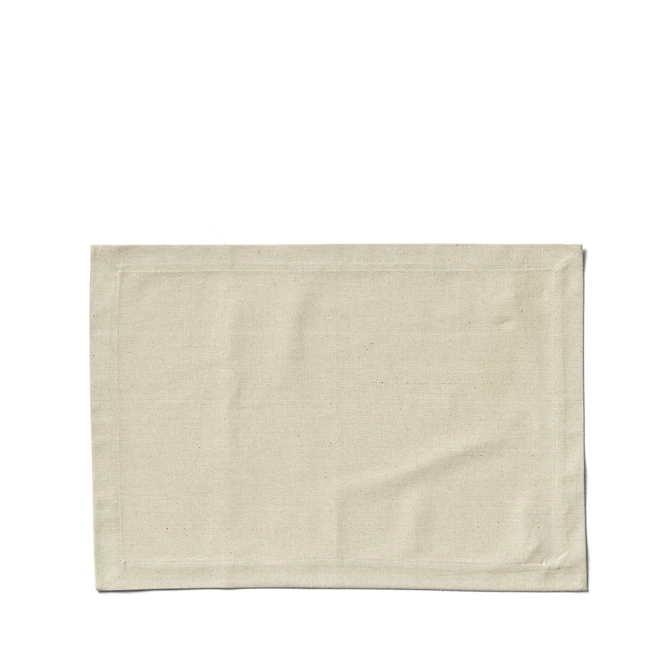 Organic Cotton Placemat in Sage Image 1
