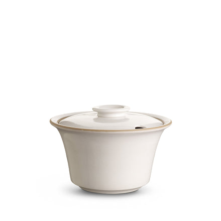 Soup Server in Opaque White
