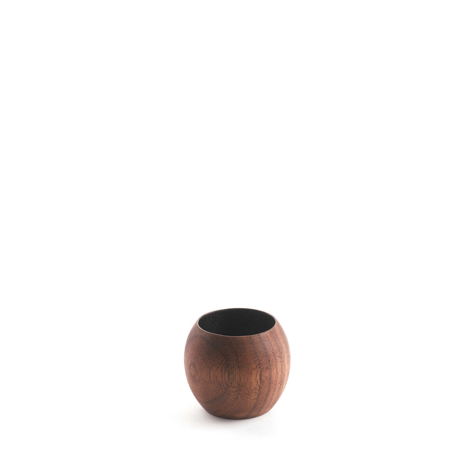 Black Walnut Sphere Cup Image 1
