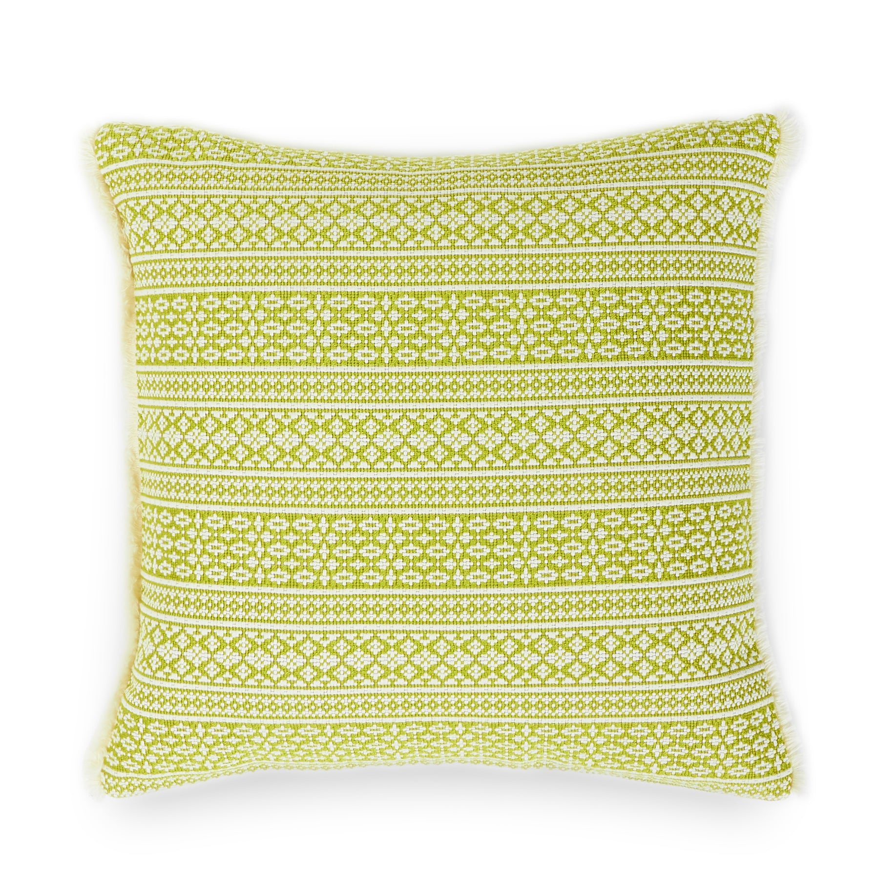 Stitched Pillow in Sweet Basil Zoom Image 1