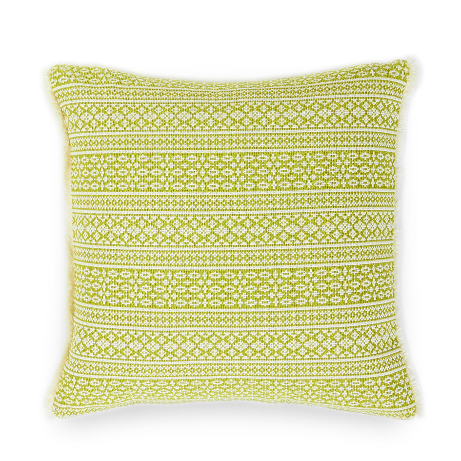 Stitched Pillow in Sweet Basil Image 1