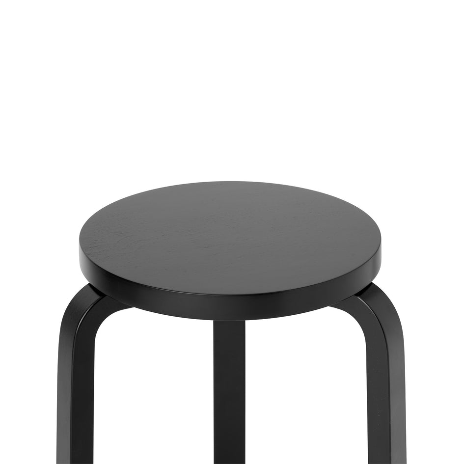 Stool 60 in Black Zoom Image 2