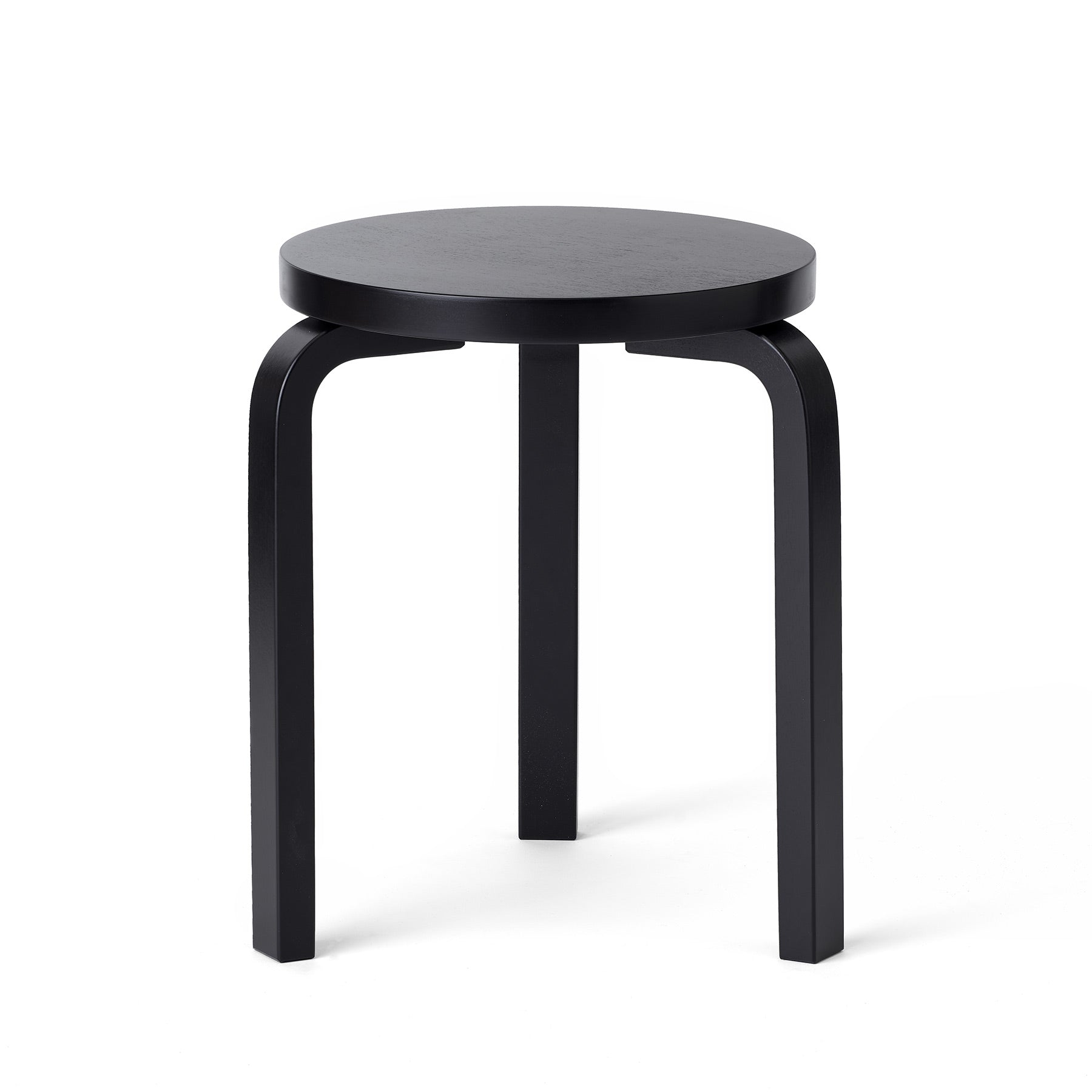 Stool 60 in Black Zoom Image 1