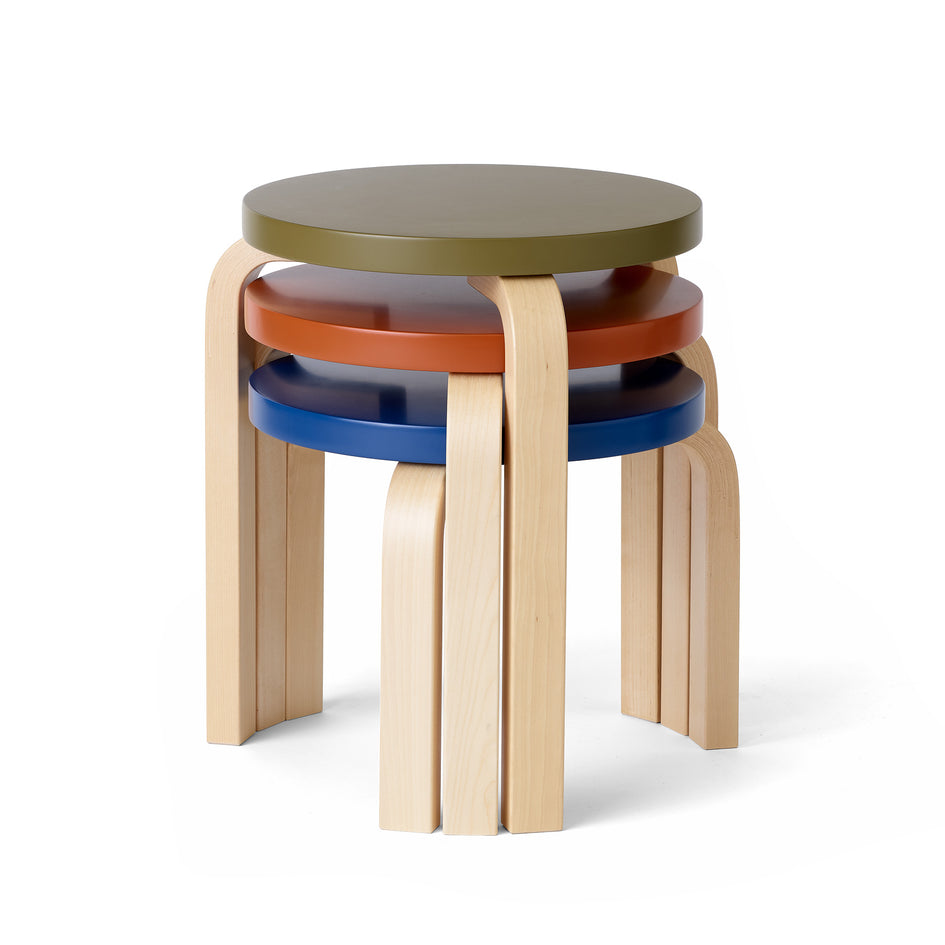 Stool 60 Low in Moonstone Image 2