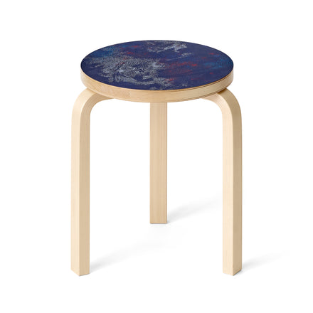 Universe Silk Screen Stool 60