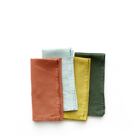 Linen Lightweight Napkins in Solids