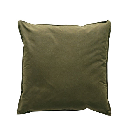 Sturdy Girl Pillow in Olive