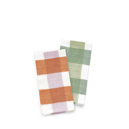 Linen Big Check Napkins