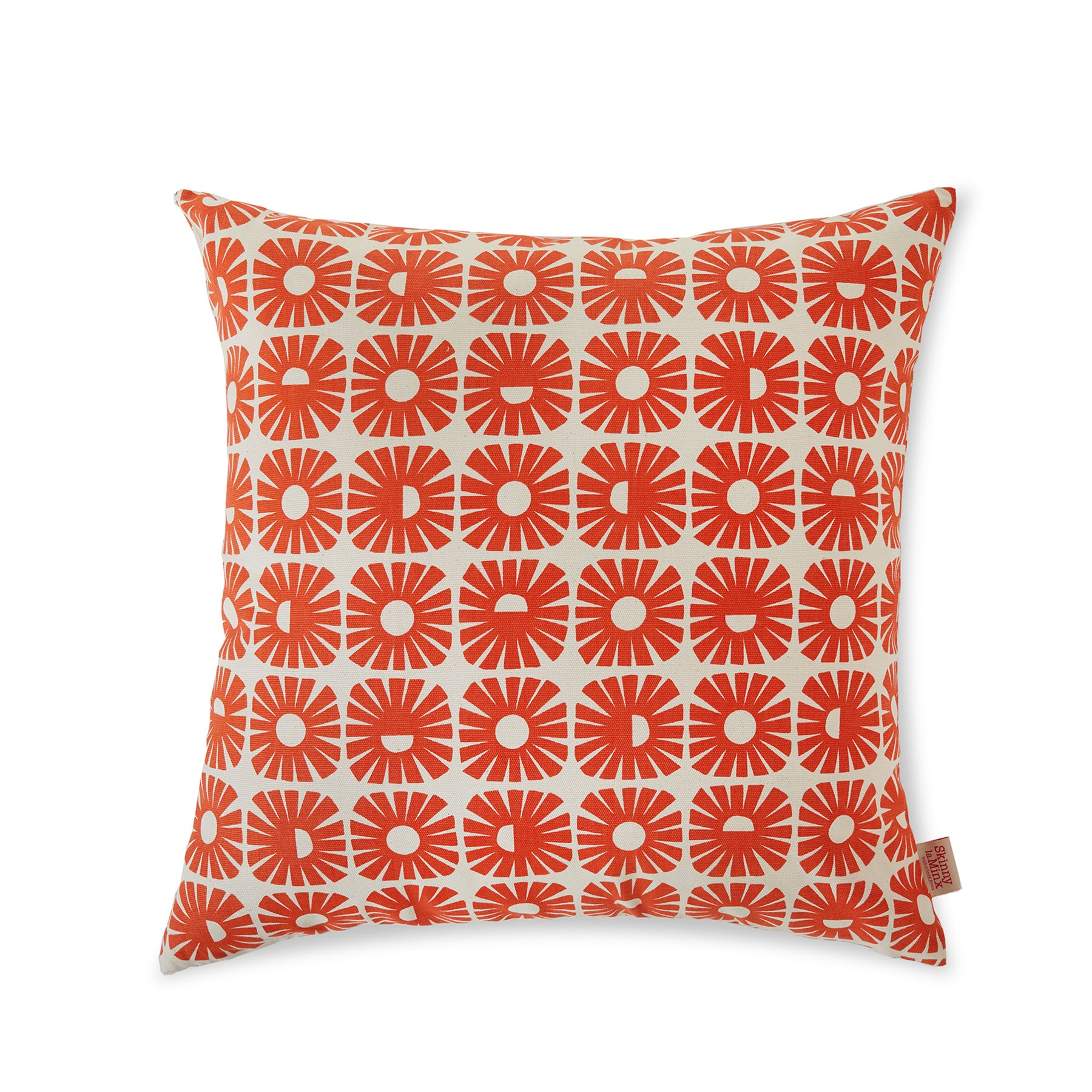 Sunnyside Pillow in Persimmon Zoom Image 1