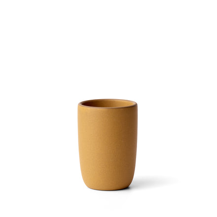 Tall Modern Cup in Turmeric