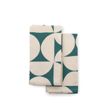 Breeze Napkins in Petrol (Set of 2)