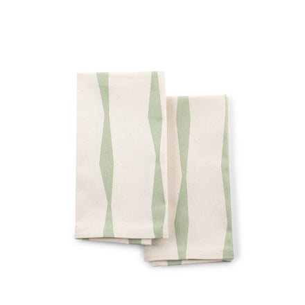 Brancusi Napkins in Spruce (Set of 2)