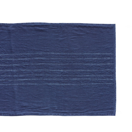 Thin Stripe Runner in Indigo