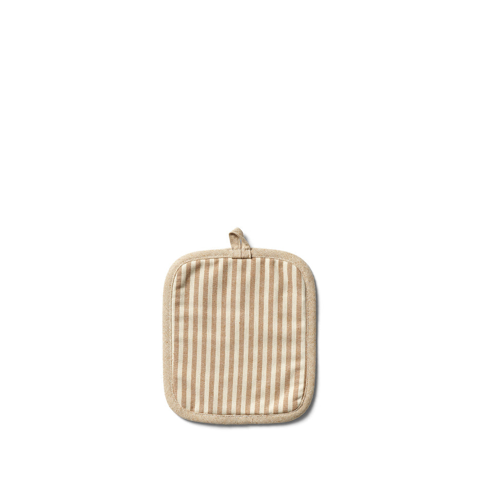 Organic Cotton Ticking Stripe Potholder Image 1