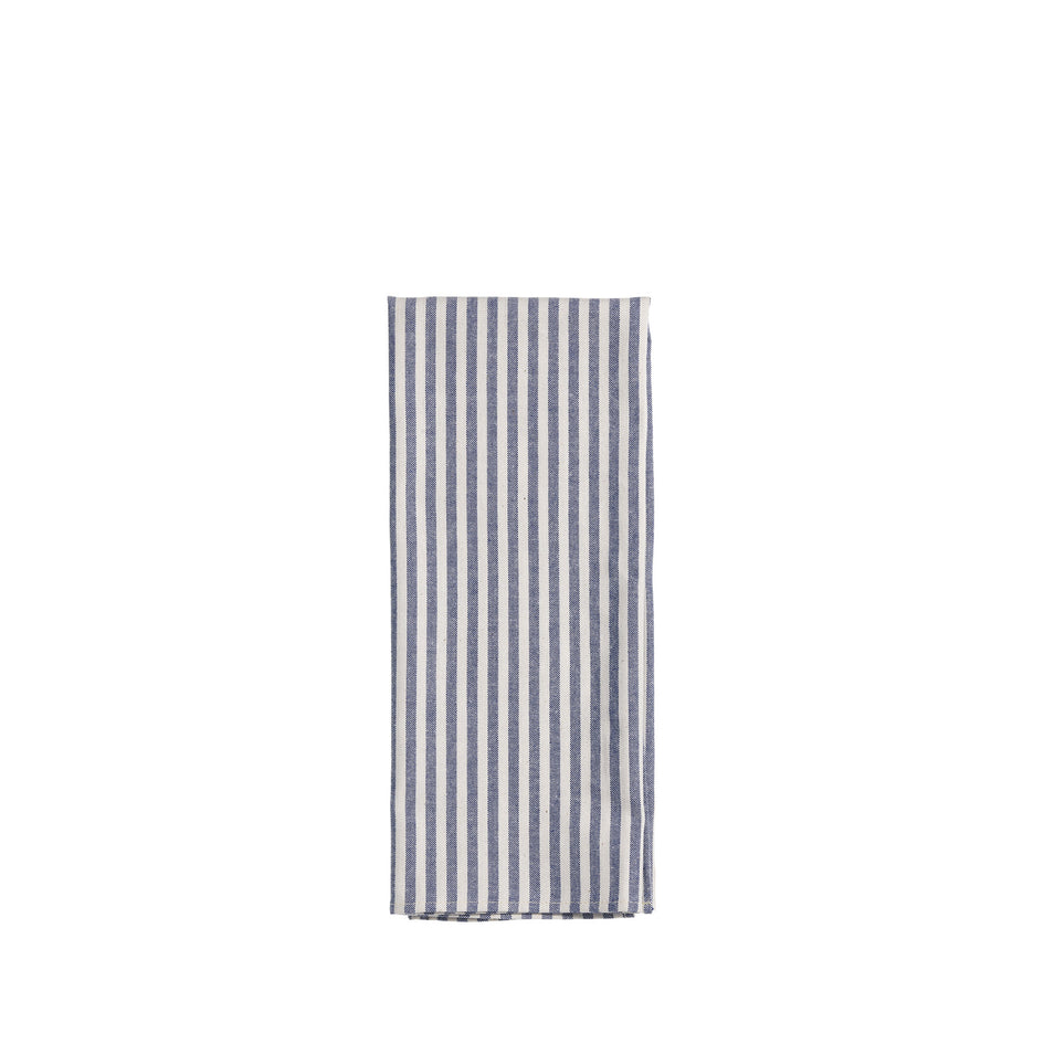 Organic Cotton Ticking Stripe Tea Towel Image 1