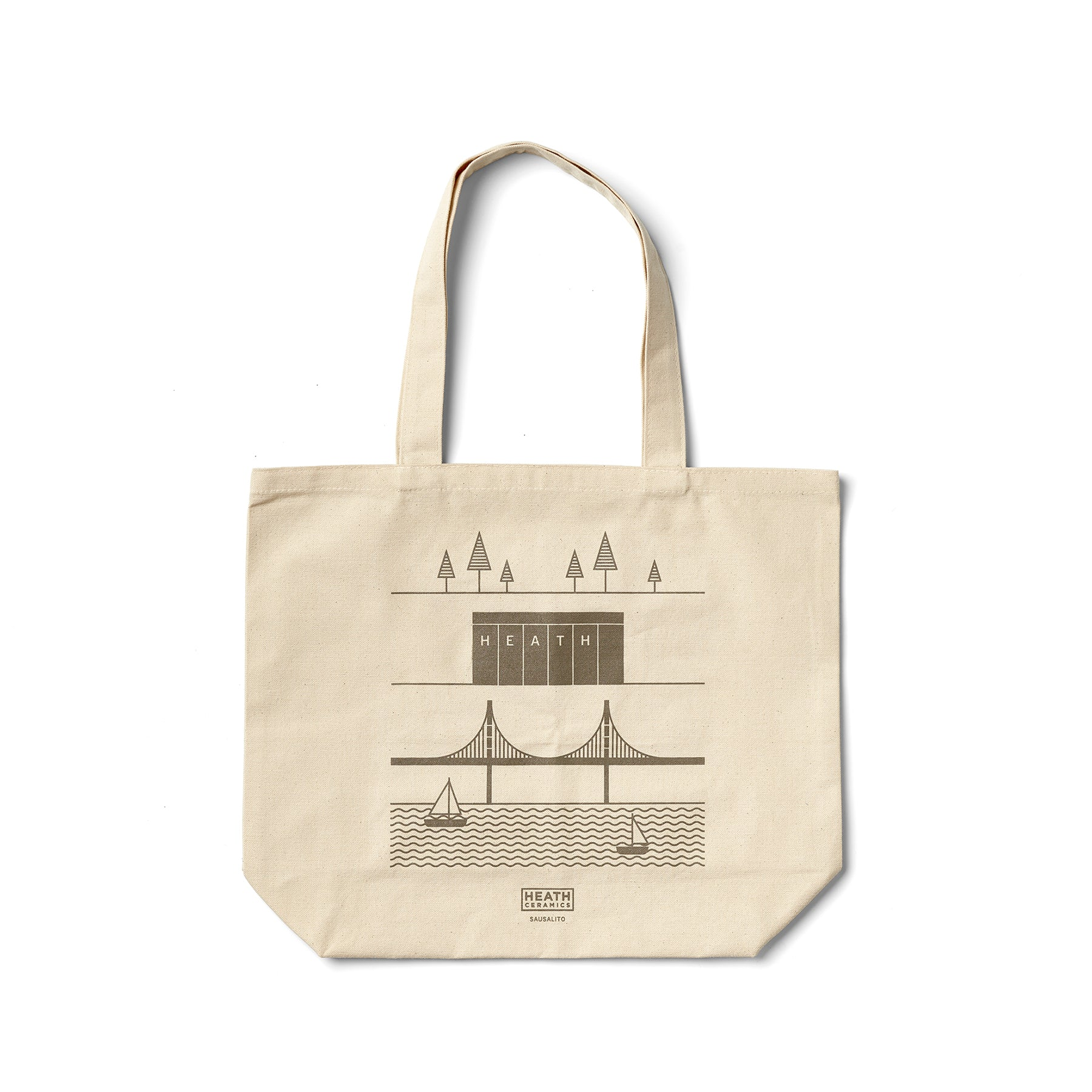 Sausalito Tote in Warm Grey Zoom Image 1