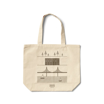 Sausalito Tote in Warm Grey
