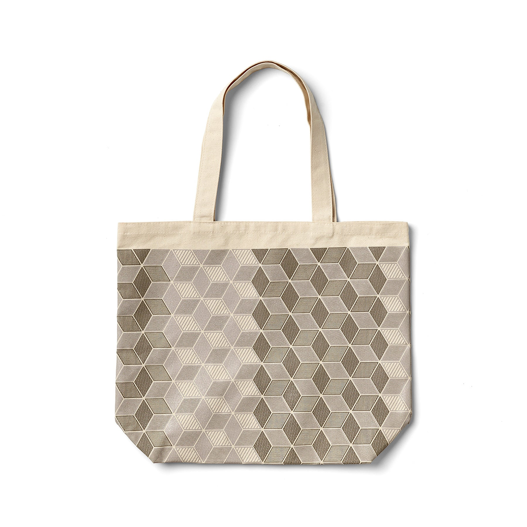 Mural Tote in Warm Grey Zoom Image 1