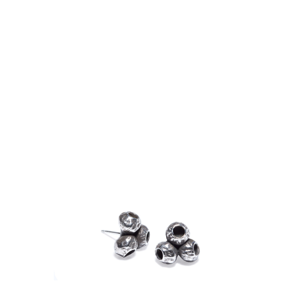 Silver TriPod Earrings