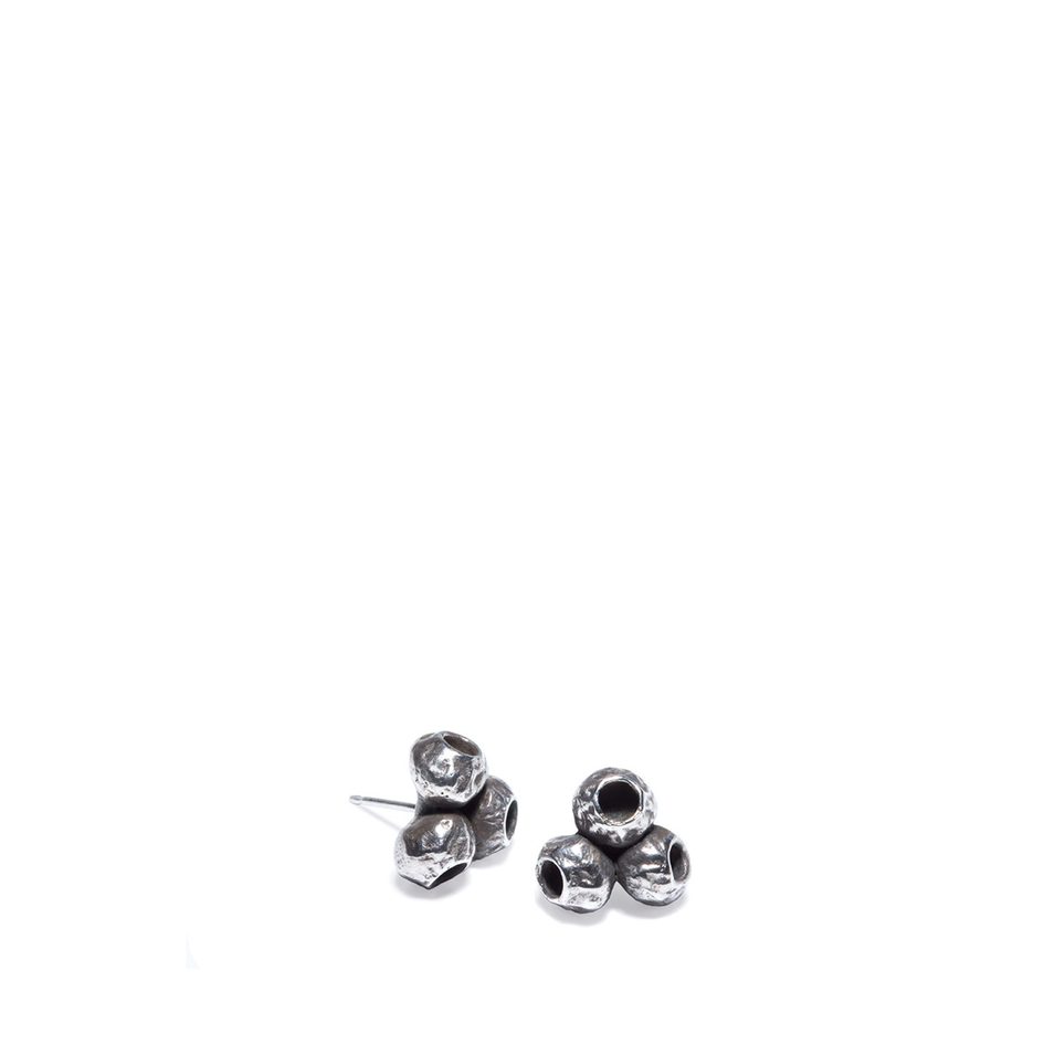 Silver TriPod Earrings Image 1