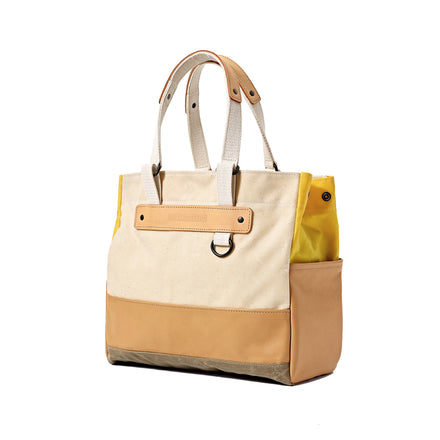 Heath + Stein Union Tote in Bright Yellow