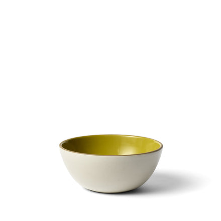 Vegetable Bowl in Canary Gloss/Sand