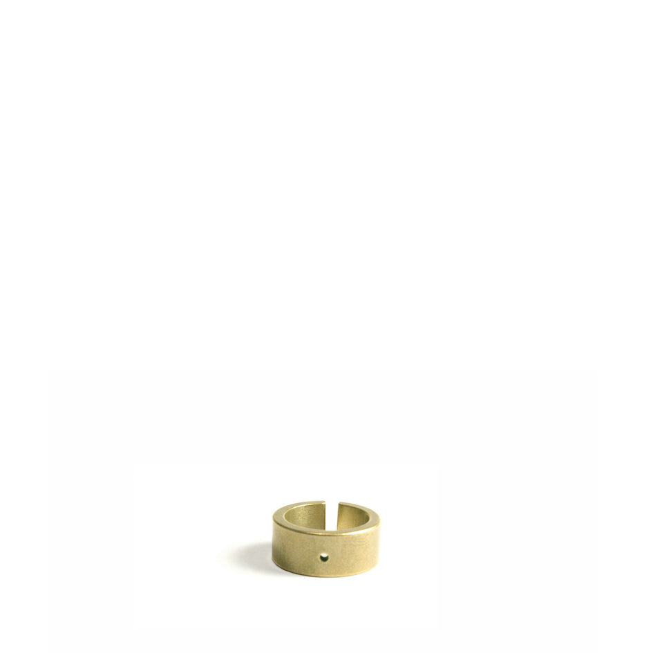 Natural Bronze Wide Cut Ring Image 2