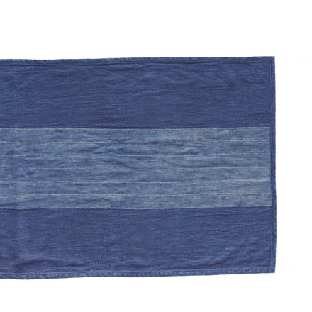 Wide Stripe Runner in Indigo