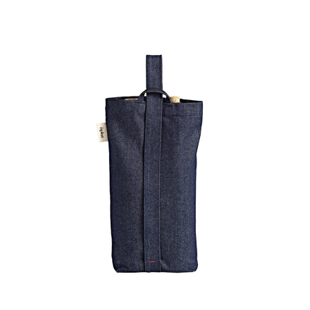 Wine Tote in Denim