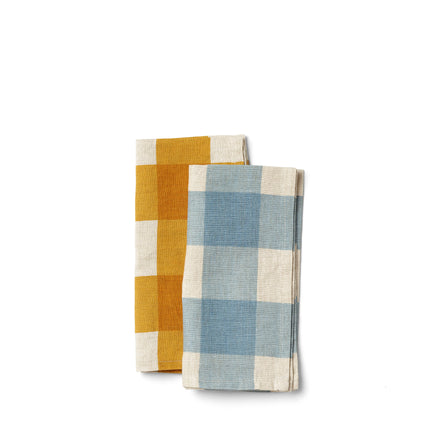 Linen Big Check Napkin