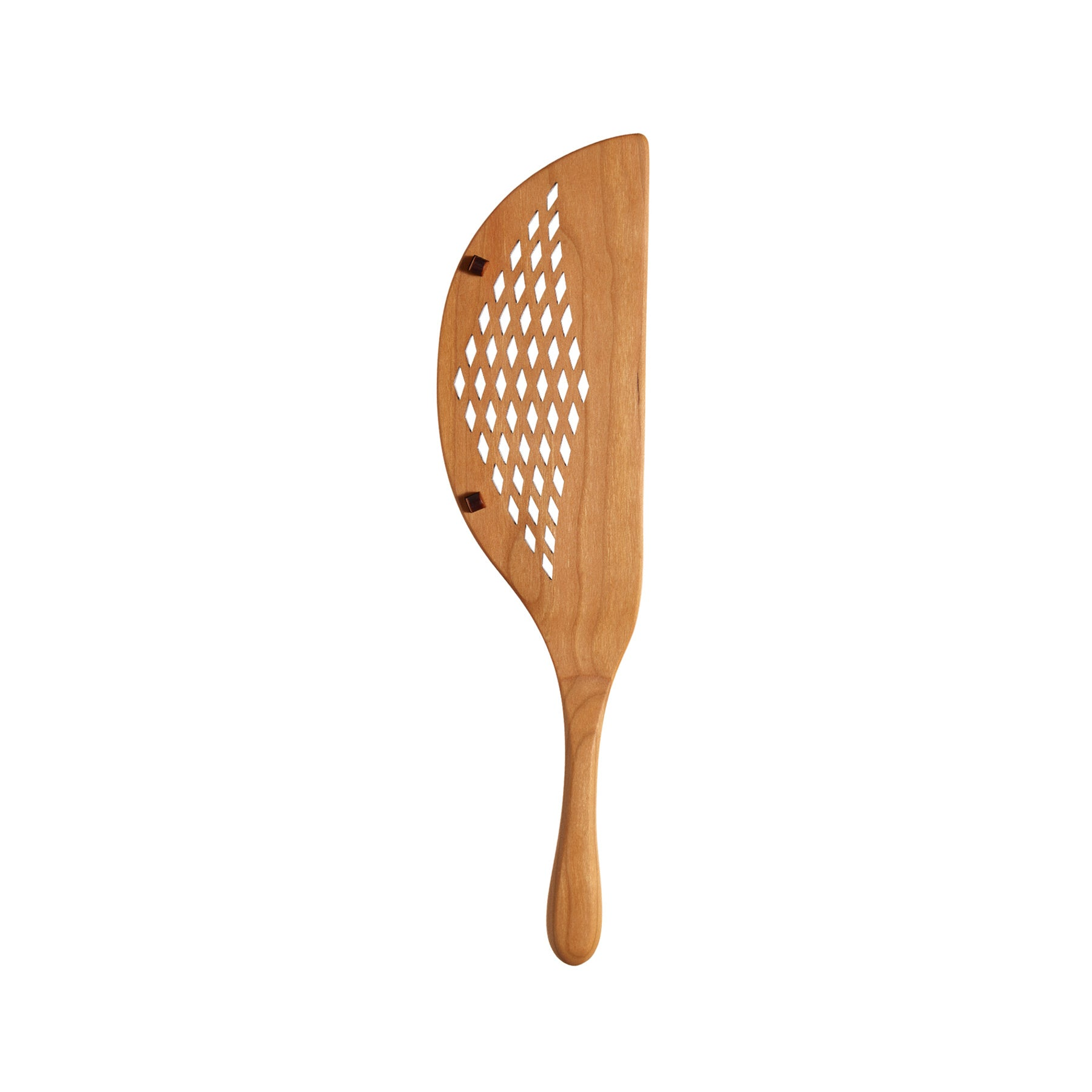 Cherry Wood Pot Strainer Zoom Image 1