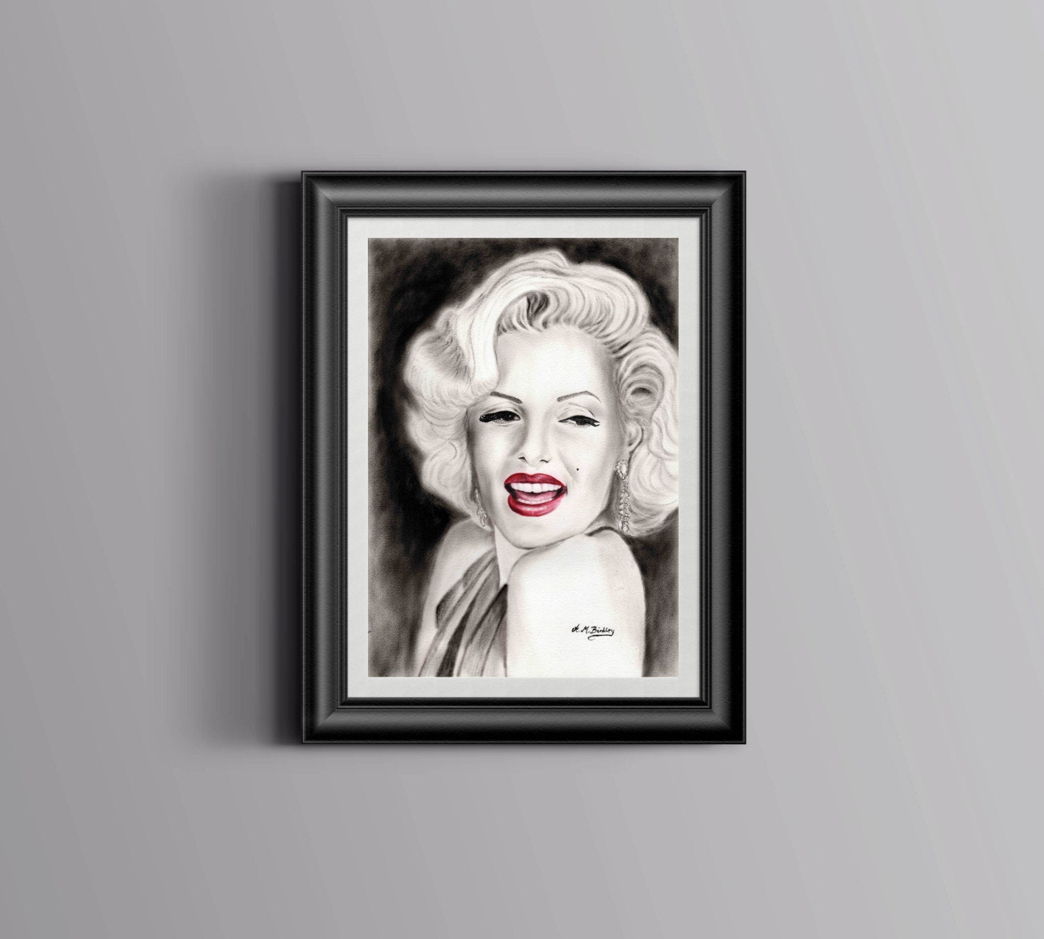Marilyn Monroe, Fine Art, Oil Painting, Marilyn Monroe Print, Marilyn  Monroe Wall Decor, Marilyn Wall Art, Home Decor, Marilyn Fan Gift,