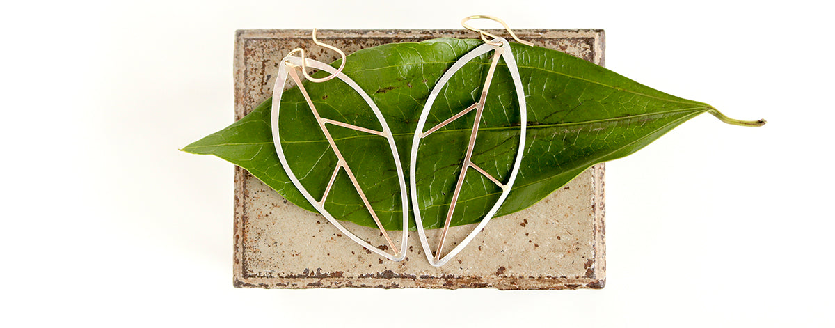Rebecca Haas Jewelry Spring Collection - Beech Leaf