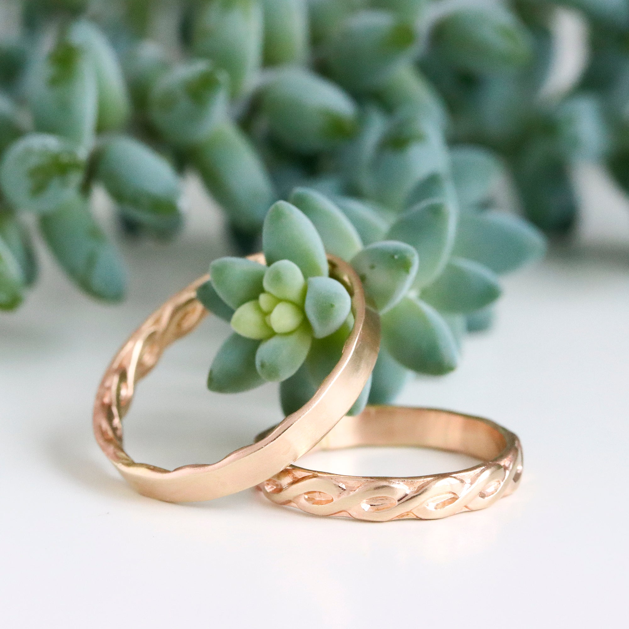 Rebecca Haas Jewelry Spring Collection - Golden Bands