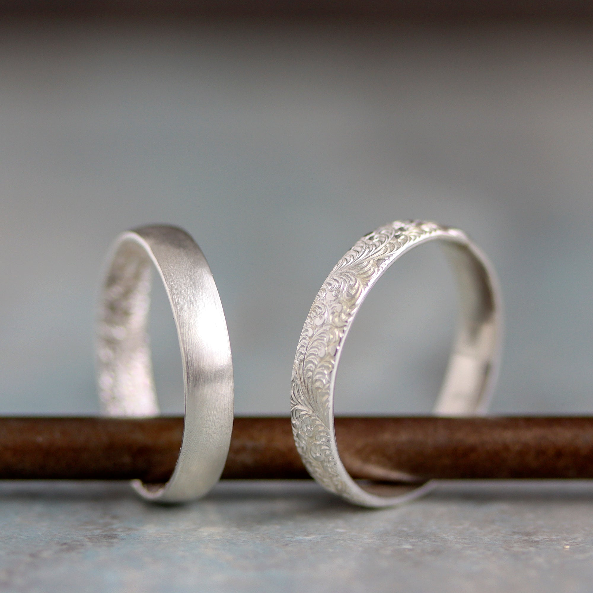 Rebecca Haas Jewelry Spring Collection - Inner & Outer Beauty on Metal Bar