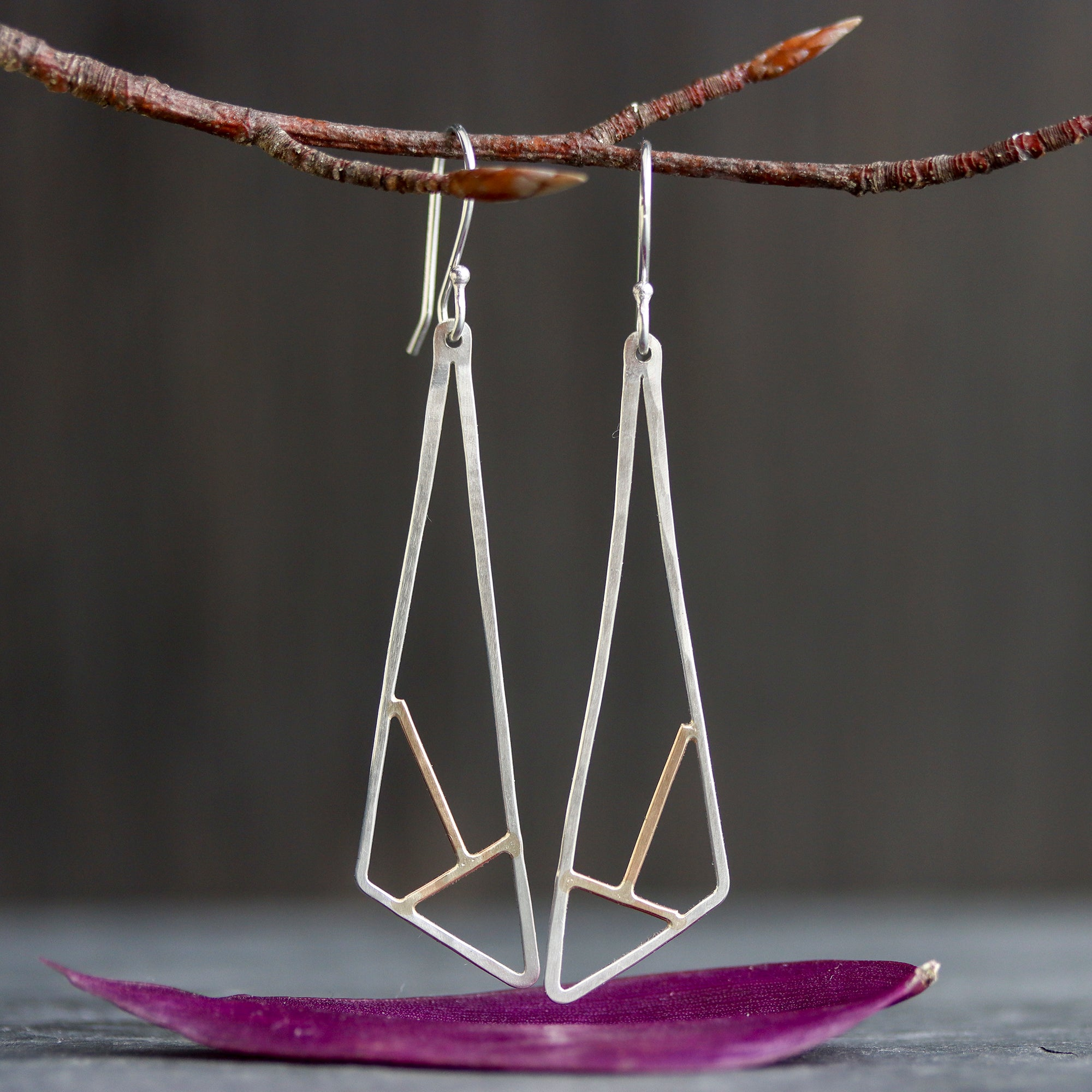 Rebecca Haas Jewelry Spring Collection - Meadowhawk Earrings