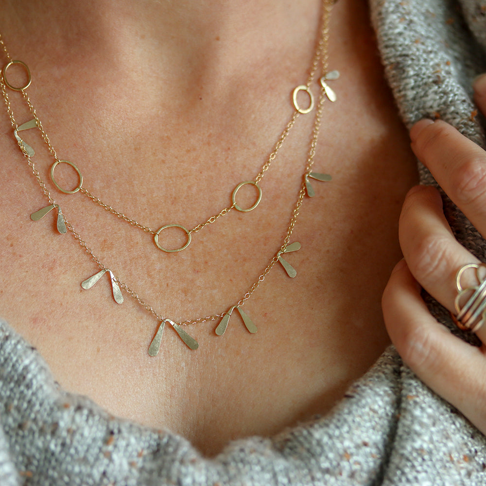 Rebecca Haas Jewelry - Short necklaces