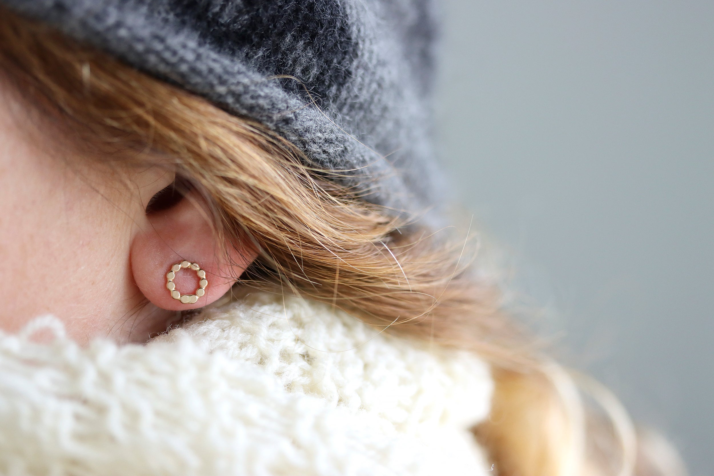 Rececca Haas Jewelry - Orbit Post Earrings