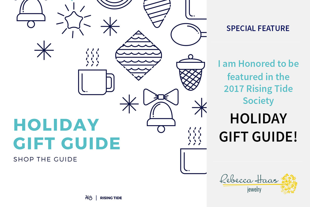 Rebecca Haas Jewelry in the 2017 Rising Tide Gift Guide