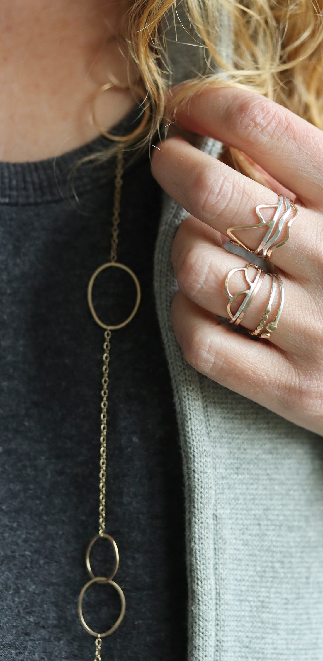 Rebecca Haas Jewelry - Winter Layering