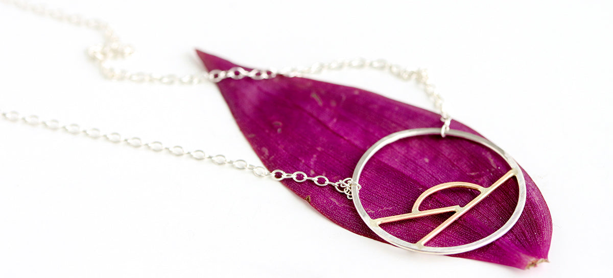 Rebecca Haas Jewelry Spring Collection - Sunrise Necklace