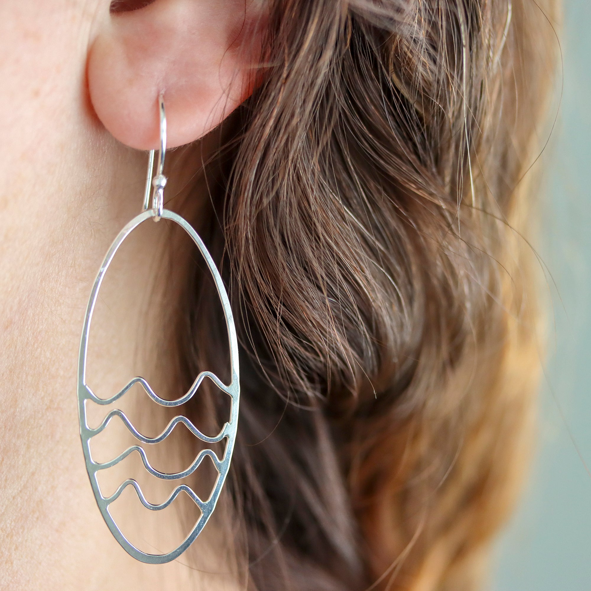 Rebecca Haas Jewelry Spring Collection - Swimming Hole Earrings