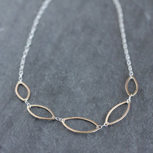 Sibyl Necklace - Delicate Handmade Geometric Design
