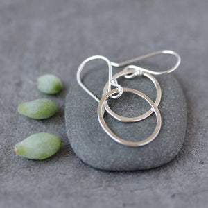 Berry Earrings - Simple Delicate Oval Earrings, Great for Everyday Wear