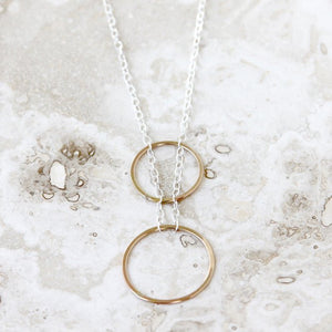 Jupiter Necklace - Delicate Geometric Design For Everyday Wear