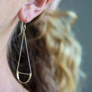 Arc Swing Earring