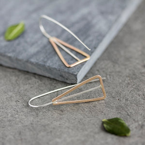 Euclid Threader Earrings