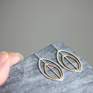 Axis Threader Earrings