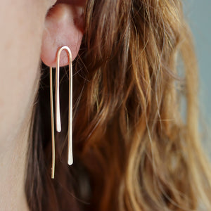 Triptych Earrings