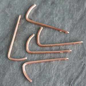 High end handmade copper hardware